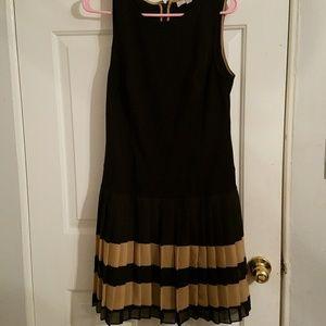 Ann Taylor pleated dress